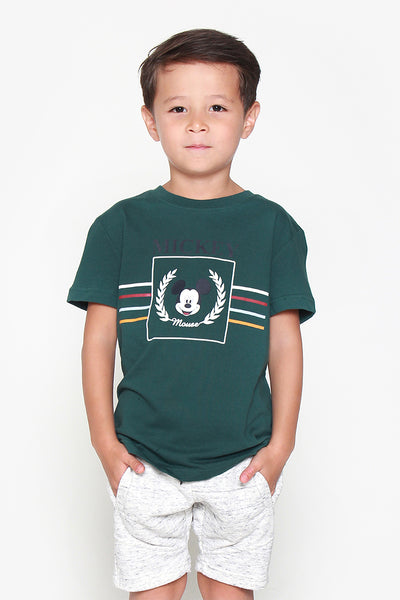 FOX KIDS Boy Mickey Mouse Print Tee
