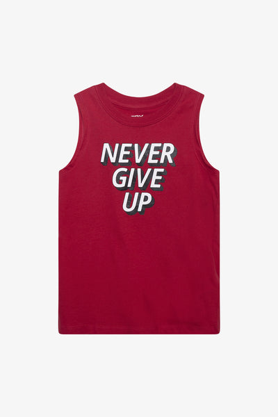 FOX Kid Boy Never Give Up Tank Top
