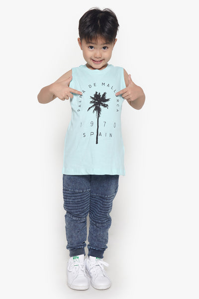 FOX Kid Boy Palm Tank Top
