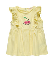 Cherry Ruffles Tank Top