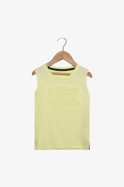 FOX Newborn & Baby Summer Sleeveless Tee