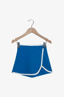 FOX Newborn & Baby Contrast Trim Jersey Shorts