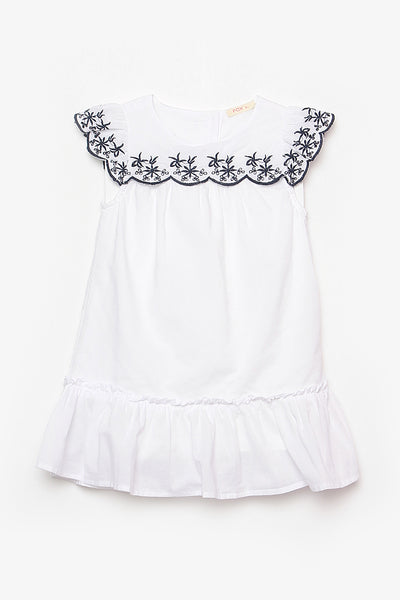 FOX BABY Girl Drop Waist Dress