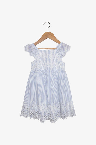 FOX Newborn & Baby Striped Dress