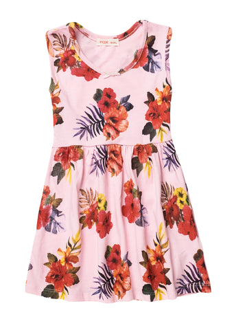 All Over Floral Print Dress