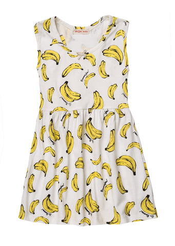 All Over Fruit Print Dress