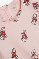 FOX BABY Girl Roller Skate Print Dress