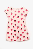 FOX BABY Girl all-over Strawberry Dress