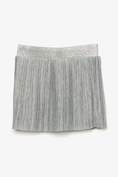 FOX BABY Girl Pleated Jersey Skirt