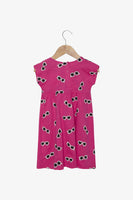 FOX NEWBORN & BABY All Over Print Jersey Dress