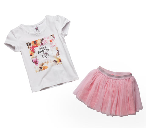 Tee & Tulle Skirt Set