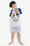 FOX Kid Boy Mickey Mouse 2-Piece Pyjama Set