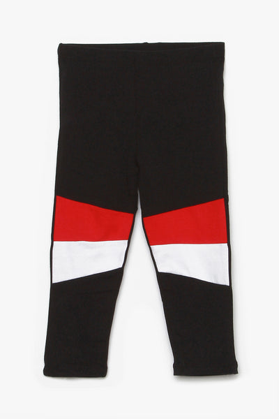 FOX BABY Girl Colourblock Jersey Leggings