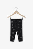 FOX NEWBORN & BABY Glitter Print Leggings