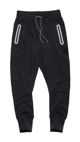 Joggers with Zipper Pockets