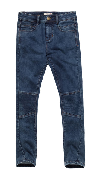 Slim Fit Cotton Blend Jeans