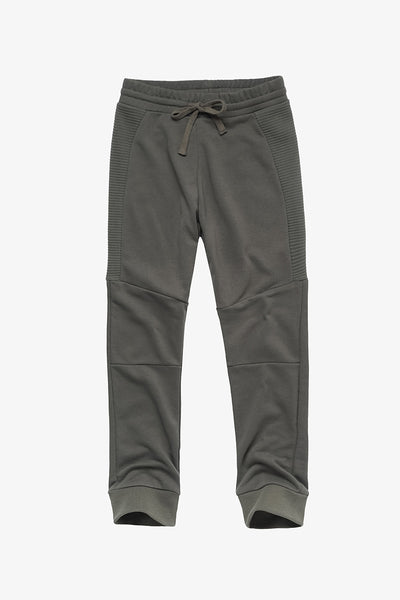 FOX KIDS Boy Drawstring Jersey Pants with Ribbed Detail