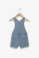FOX NEWBORN & BABY Denim Front Pocket Dungaree