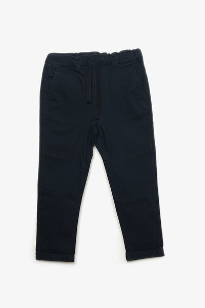 Drawstring Cotton Pants