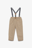 FOX BABY Boy Chinos with Suspenders