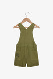 FOX Newborn & Baby Summer Dungaree Shorts