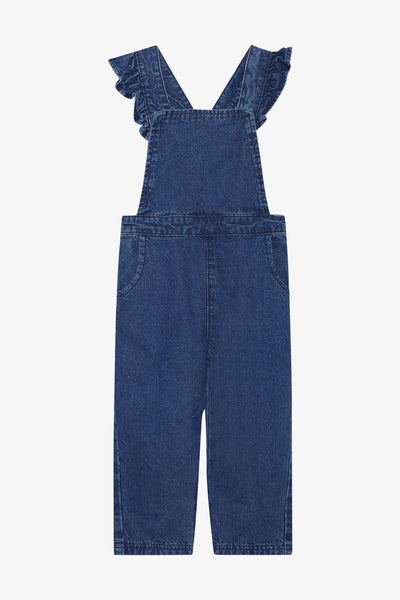 FOX Newborn & Baby Denim Playsuit