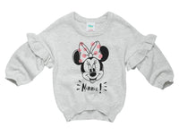 Minnie Mouse Frill Sleeve Sweatshirt