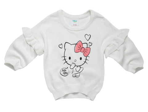 Hello Kitty Frill Sleeve Sweatshirt