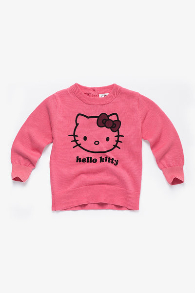 FOX BABY Girl Hello Kitty Knit Sweater