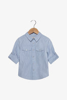 FOX Newborn & Baby Lightweight Button Up Shirt