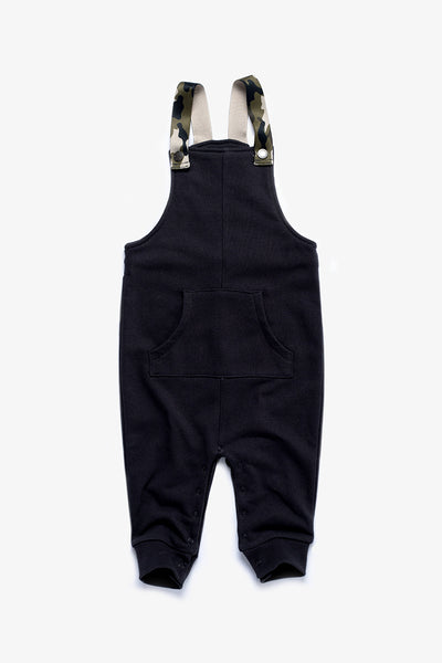 FOX BABY Boy Jersey Dungarees