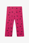 FOX Kid Girl Allover Print Leggings