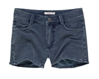 Cotton Blend Denim Shorts