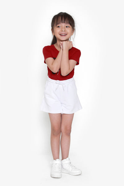 FOX KIDS Girl Drawstring Jersey Shorts