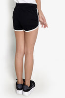 FOX Kid Girl Drawstring Contrast Trim Shorts