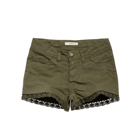 Essential Shorts with Lace Trims