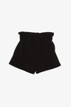 Cotton Paper Bag Shorts