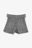 FOX KIDS Girl Plaid Cotton Shorts