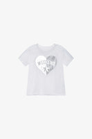 FOX Newborn & Baby Metallic Printed Graphic Tee