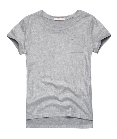 Essential Tee with Shimmer
