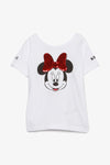 FOX KIDS Girl Reversible Minnie Mouse Sequin Tee
