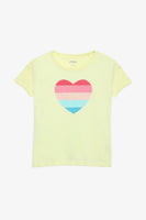 FOX KIDS Girl Heart-Shaped Tee