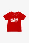 FOX KIDS Girl Short Sleeve Slogan Tee