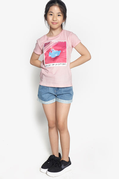 FOX Kid Girl Cinderella Graphic Print Tee