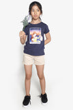 FOX Kid Girl Beauty & the Beast Graphic Printed Tee