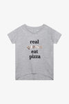 FOX Kid Girl Metallic Slogan Print Tee