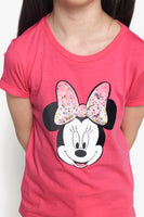 FOX Kid Girl Minnie Mouse Graphic Tee