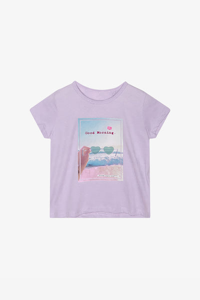 FOX Kid Girl Summer Graphic Print Tee