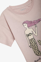 FOX Kid Girl Shimmer Print Tee