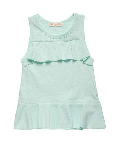 Tank Top with Frills